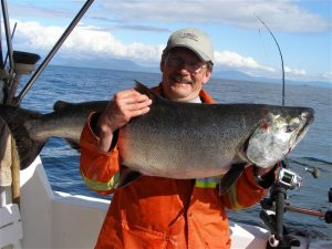 Alaskan King Salmon Fishing Charters