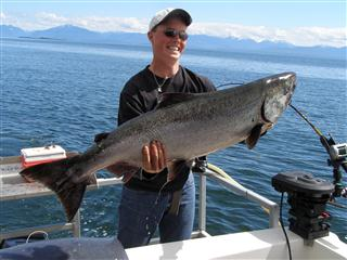 Close to 50lb King Salmon
