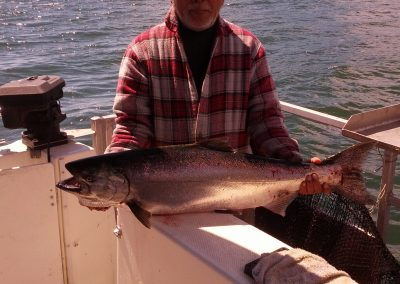 Chinook Salmon Fishing - July 2013